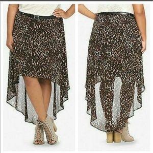 Torrid High Low Skirt